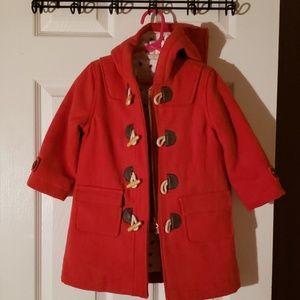 Boden girls coat